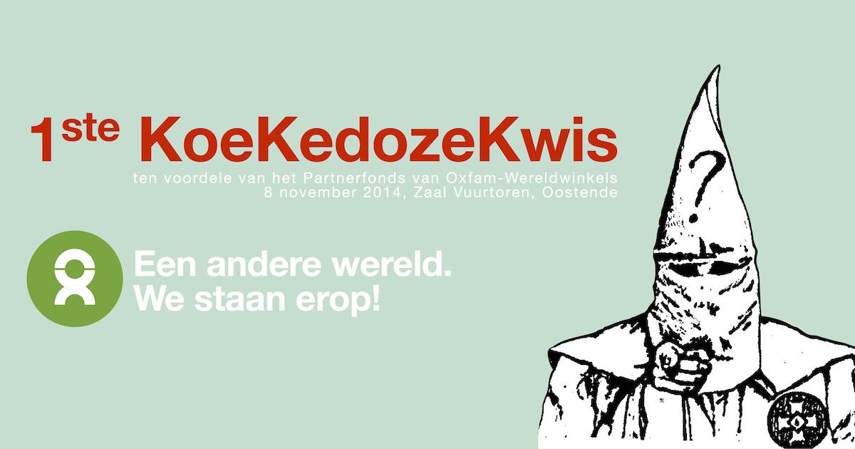 Banner 1ste KoeKedozeKwis