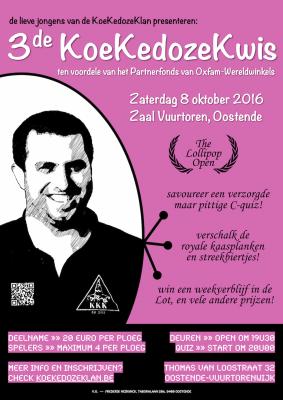 Poster 3de KoeKedozeKwis