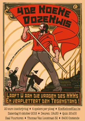 Affiche 4de KoeKedozeKwis